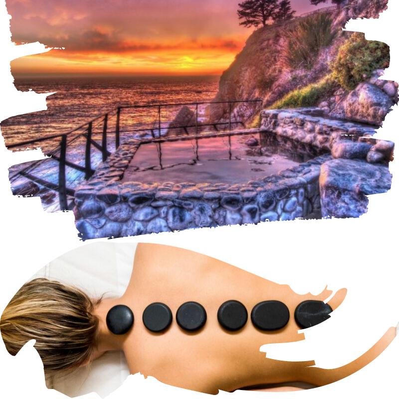 les prestations massage pierres chaudes