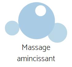 Les soins esthétiques - massage amincissant